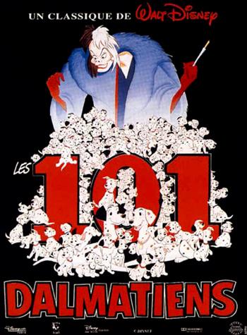 101 dalmatians - Cruelle diablesse - 101 dalmatiens (les) - Cruelle diablesse