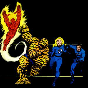 The Fantastic Four - Quatre Fantastiques (les) - 1980 - Générique