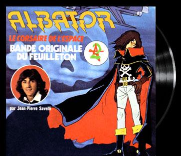 Uchû Kaizoku Captain Harlock - Main title - Albator 78 - Générique
