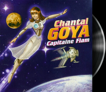 Captain Future - French song - Capitaine Flam - Version Chantal Goya