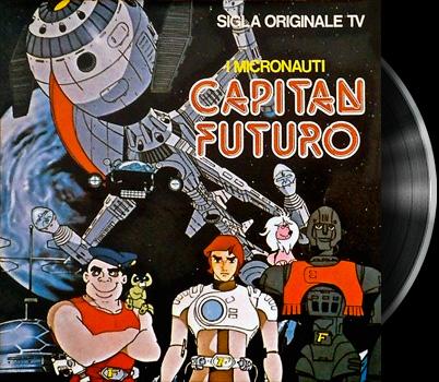 Captain Future - Capitaine Flam - Générique de fin italien