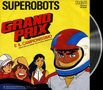 Arrow Emblem Grand Prix no taka - Italian main title - Grand Prix - Générique italien