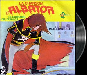 Uchû Kaizoku Captain Harlock - Cover - Albator 78 - Générique (Reprise chantée par Michel Barouille)