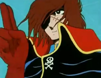 Uch Kaizoku Captain Harlock - Main title - Albator 78 - Gnrique