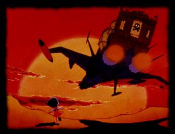 Uchû Kaizoku Captain Harlock - Albator 78 - Thème :  En avant, Atlantis !