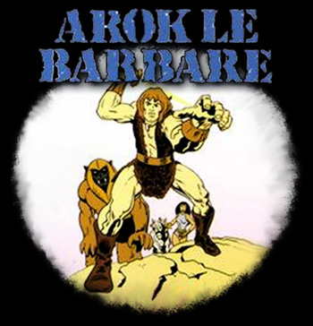 Thundarr the Barbarian - Arok le barbare - Générique de debut