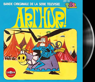 Arthur and the Square Knights of the Round Table - Main title - Arthur (Le Roi) - Générique