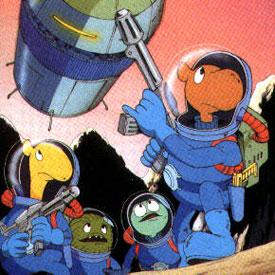 Uchusen sajitariusu - Aventuriers de l'espace (les) - Générique de début