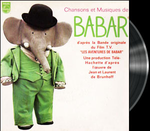 Babar (Les aventures de) - Carousel music - Babar (Les aventures de) 1969 - Musique de mange