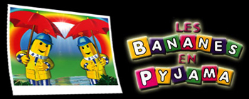 Bananas in pyjamas - Ending - Bananes en pyjama (Les) - Générique de fin