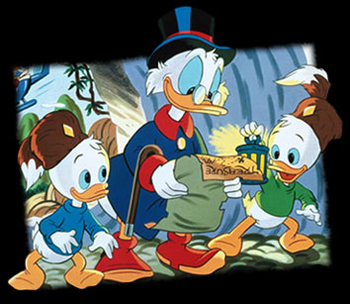 Duck Tales - 2nd french main title - Bande à Picsou (la) - Générique reprise