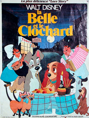 Lady and the tramp - Bella notte - Belle et le clochard (la) - Bella notte - Eurobeat