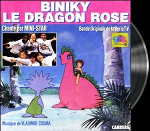 Serendipity Monogatari Yori - Biniky le Dragon Rose - Générique instrumental