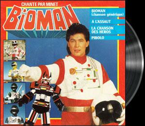 Chô denshi Bioman - Bioman - Chanson : La chanson des héros