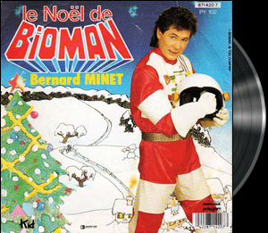 Chô denshi Bioman - French song - Bioman - Chanson : Dors en paix la terre