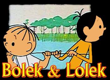 Bolek i Lolek wyruszaj¹ w œwiat - Main title - Bolek et Lolek - Générique