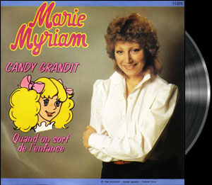 Candy Candy - French song - Candy - Chanson : Quand on sort de l'enfance