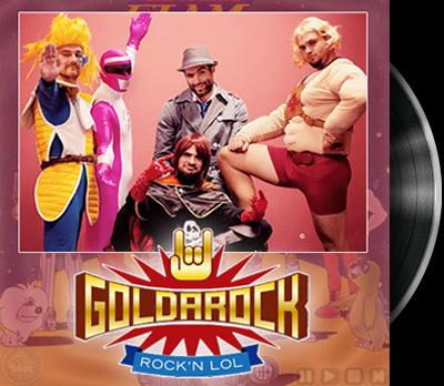 Captain Future - Goldarock's cover - Capitaine Flam - Reprise Goldarock