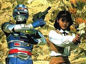 Uchu Keiji Shaider - Capitaine Shaider - Générique