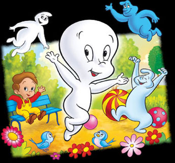 Casper,  the friendly ghost -Main title - Casper et ses amis - Générique