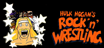Hulk Hogan's Rock 'N' Wrestling - Main title - Catcheurs du Rock (les) - Générique