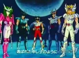 Saint Seiya - 2nd Instrumental japanese main title - Chevaliers du Zodiaque (les) - 2ème Générique instrumental japonais