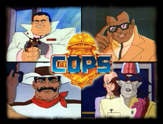 C.O.P.S. (Central Organization of Police Specialists) - American main title - COPS - Générique américain