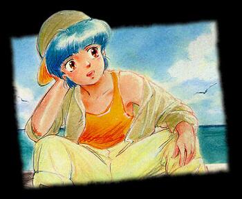 Mahô no tenshi Creamy Mami - Japanese song - Creamy, merveilleuse Creamy - Chanson : Une chance - Version japonaise