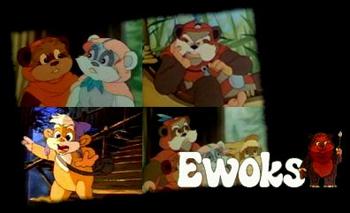 All New Ewoks - opening - Ewoks (Les) - Série 2 - Générique de début VO