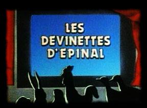 Les devinettes d'Epinal - Devinettes d'Epinal (les)