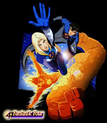 Fantastic Four : World's greatest heroes - Quatre Fantastiques (les) - 2006 - Générique