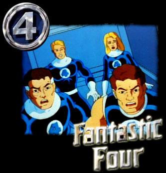 Fantastic Four: The Animated Series - Quatre Fantastiques (les) - 1994 - Générique de fin
