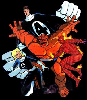 Fantastic Four: The Animated Series - Quatre Fantastiques (les) - 1994 - Générique de début