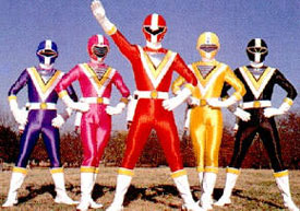 Chikyû Sentai Fiveman - Main title - Fiveman, l'escadron de la Terre - Générique