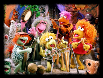 Fraggle Rock with Jim Henson's Muppets - French song - Fraggle Rock - Chanson : Bosser