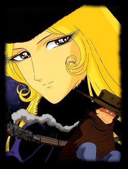 Dessins anim s galaxy express 999 g n rique italien ginga tetsudo san kyu - Train dessin anime chuggington ...