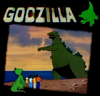 Godzilla Power Hour (the) - Ending - Godzilla 1979 - Générique de fin
