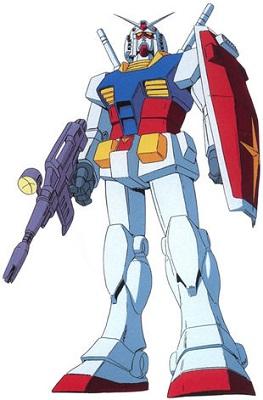 Mobile Suit Gundam - Gundam - italien