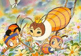 Konchû Monogatari Minashigo Hutchi - Main title - Hacou - Générique