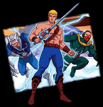 The new adventures of He-Man - He-man, le Héros du Futur