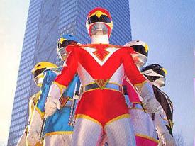 Choojin Sentai Jetman - Jetman