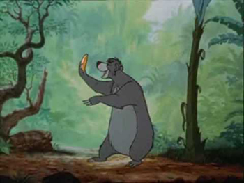 Jungle book - The Bare Necessities - French version - Livre de la Jungle (le) - Il en faut peu pour être heureux