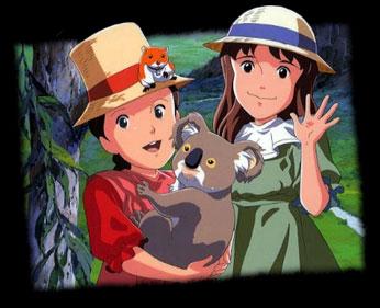 Minami no niji no Lucy - Japanese ending - Karine, l'Aventure du Nouveau Monde - Générique de fin japonais