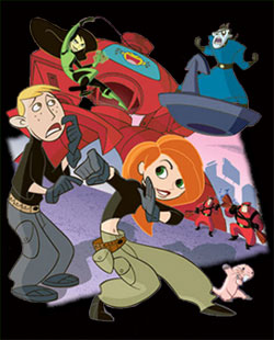 Kim Possible - Danish main title - Kim Possible - Générique danois