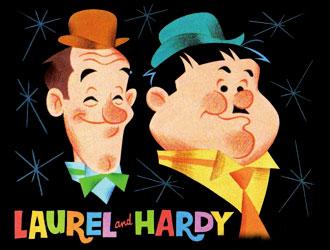 Laurel & Hardy - American main title - Laurel & Hardy - Générique américain