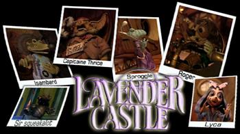 Lavender Castle - Ending - Lavender Castle - Générique de fin