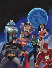 Justice League - Ligue des Justiciers (la) - Générique