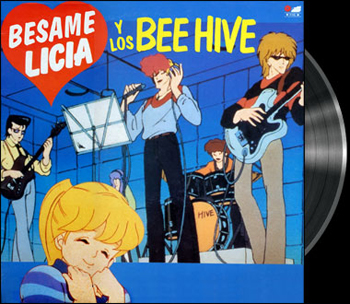 Aishite Night - Beehive - Spanish song - Lucile amour et rock'n roll - Beehive - Baby I love you -  Version espagnole