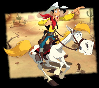 Lucky Luke - Main title - Season 2 - Lucky Luke - Générique - Saison 2 - 1991