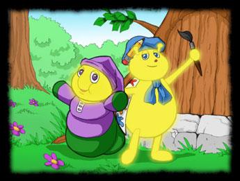 dessins anim 233 s luxioles les the glo friends